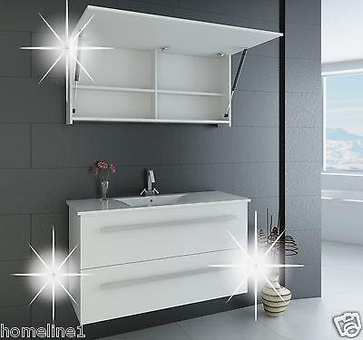 Badmöbel Set Ganz in Hochglanz  Badezimmermöbel  Badmöbel Komplett Luxus ★★★★★ %
