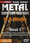 Learn Metal Rhythm Guitar In 6 Weeks - Week 5 (DVD, 2012)
