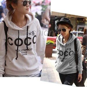 Vogue-Style-COCO-Print-Hoodie-Fleece-Inner-Coats-Sweatshirt-Tracksuits-Pullover