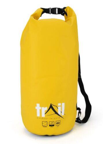 40 Litre Dry Sack Camping Kit Waterproof Bag Liner Canoe Kayak Walking Hiking