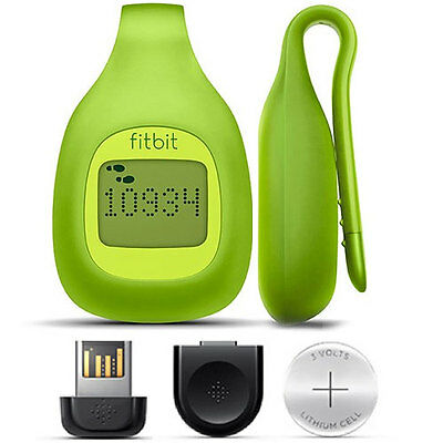 Fitbit Zip Wireless Activity Tracker Pedometer Steps Distance Calories Lime