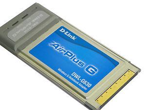 D-Link-AirPlus-G-DWL-G630-Cardbus-Wireless-Retail