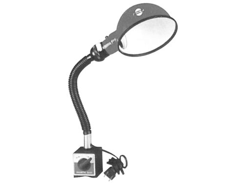 LAMP ON MAGNETIC BASE - 11 INCH FLEXIBLE ARM