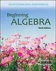 Beginning Algebra by Barry Bergman, Stefan Baratto, Donald Hutchison (Paperback, 2013)