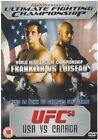 Ultimate Fighting Championship 58 - USA vs Canada (DVD, 2006)