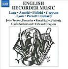 English Recorder Music (2010)