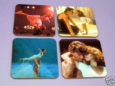 Dirty Dancing Patrick Swayze Drinks Coaster Set