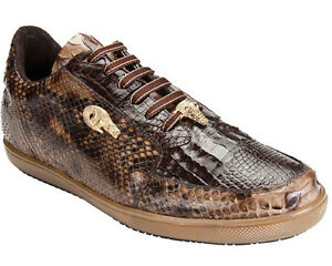 BELVEDERE-ANGELO-CAIMAN-PYTHON-MENS-SNEAKERS-SIZE-8-14