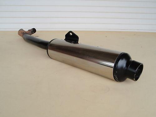 GSX 750 F GR78A guter Auspuff links Schalldämpfer muffler GSX750 GSX750F i1698