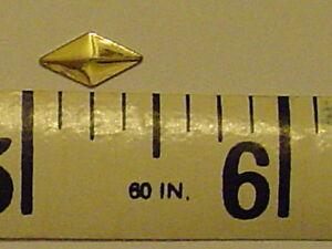 1gr-NAILHEAD-5x10mm-DIAMOND-GOLD-HOTFIX