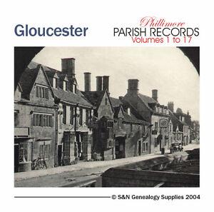 Gloucestershire-Parish-Registers-Complete-Phillimore-Marriages-Records