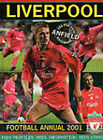 The Official Liverpool Football Annual: 2001 by Jeremy Paxton (Hardback, 2000)