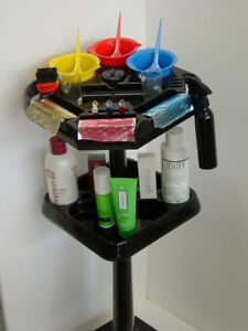 Hairdressing-Colour-Trolley-Made-In-U-S-A-FREE-GIFT