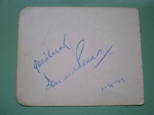 Donald-Peers-vintage-Signed-autograph-album-page