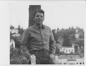 Audie Murphy Cool Guy Vintage Photo Doubleweight Paper Ebay