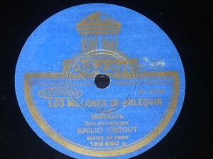 VIOLIN-78-rpm-RECORD-Odeon-EMILIO-CREGUT-France-DRIGO