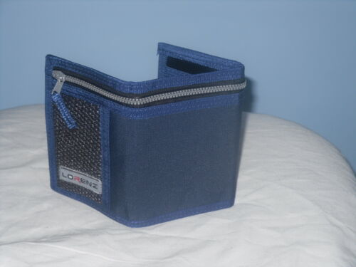 Mens//Boys Sports fold over card POCKET change note Wallet Made By Lorenz.