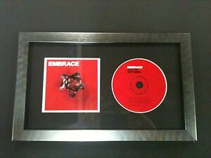CD-MUSIC-ALBUM-COVER-MEMORABILIA-PICTURE-FRAME-WITH-GLASS-AND-MOUNT