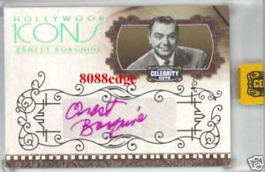 2008-CELEBRITY-CUTS-AUTO-ERNEST-BORGNINE-1-1-OF-ONE-AUTOGRAPH-OSCAR-EMMY-WINNER