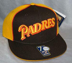 Mitchell-amp-Ness-Cappello-San-Diego-Padres-dimensioni-su-misura-Baseball