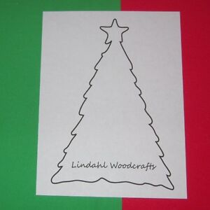 Star-Holiday-Tree-Shape-Unfinished-Wood-Craft-Cut-Outs-Variety-Sizes-ST91005