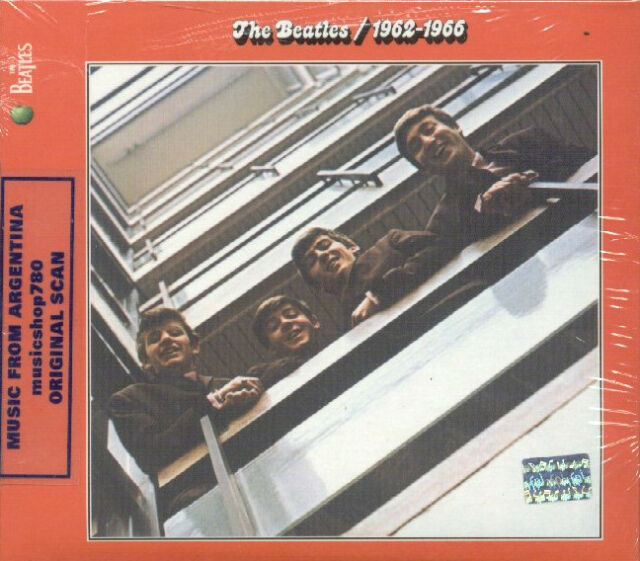 THE BEATLES 1962-1966 RED ALBUM SEALED 2 CD SET GREATEST HITS BEST REMASTERED