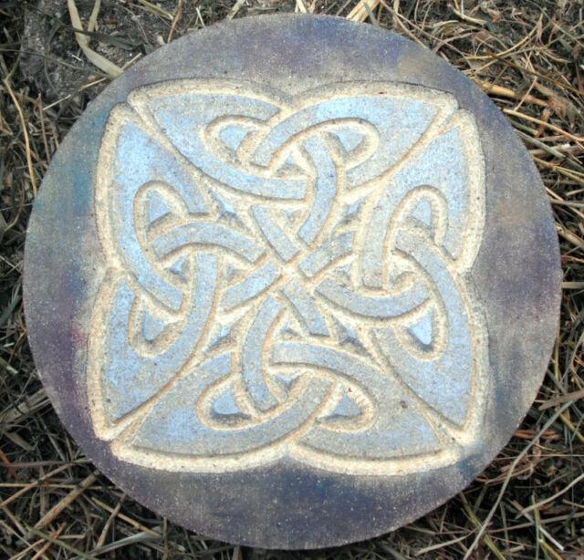 Celtic concrete plaster plaque mould