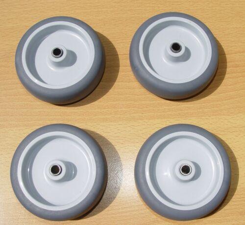 RUOTE ruoli kunststoffrad gummirad tran sportrad Ø 75mm