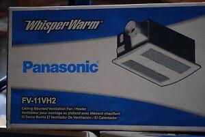 Panasonic Fv 11vh2 Whisper Fan Heat Ceiling Mounted Ebay