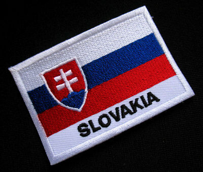 SLOVAKIA SLOVAK SLOVENSKO NATIONAL FLAG Sew on Patch