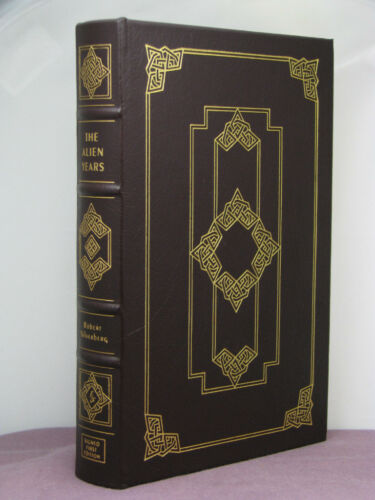 1st,signed by 2(author,artist+drawing)Alien Years,Robert Silverberg,Easton Press