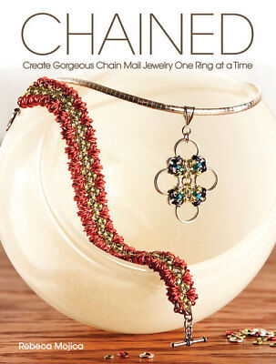 CHAINED-Chain Mail/Maille Jewelry-Jump Ring-Idea Craft Book