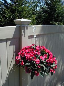 Pvc Fence Post Hanger Bracket Ebay