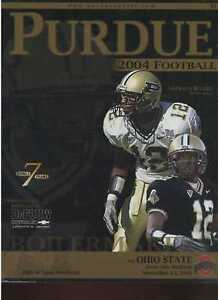 2004 Purdue vs Ohio State football program MBX8 | eBay