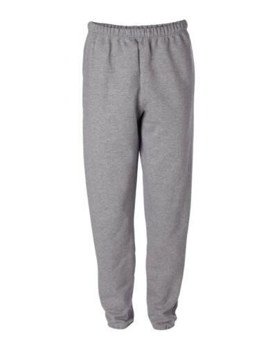 JERZEES NuBlend SUPER SWEATS Pocketed Sweatpants 4850MR S-3XL with Pockets