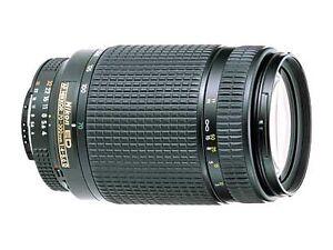 Nikon NIKKOR 70 300mm F 40 56 D AF ED Lens