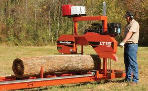 Woodmizer-LT15-Portable-Sawmill-Bandsaw-18HP
