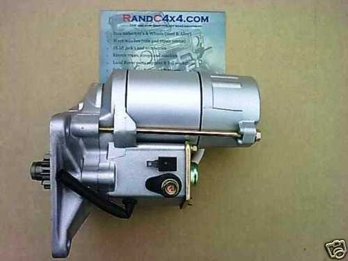 Land Rover Discovery 2 TD5 Starter motor NAD101240