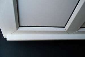 Upvc door rain water deflector