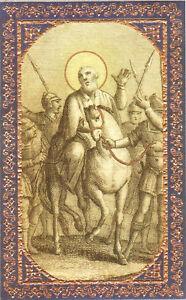 SANTINO-HOLY-CARD-IMAGE-PIEUSE-SAN-LUPO-VESCOVO-DI-SENS