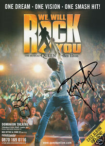 Queen-We-Will-Rock-You-Signed-Promo-Poster