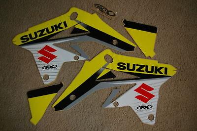 FACTORY EFFEX GRAPHICS SUZUKI RMZ250 2007-2008-2009 WT