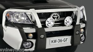 TOYOTA-HILUX-ALLOY-BULLBAR-FORGE-BAR-4WD-SR5-2006-2011-NEW-GENUINE-ACCESSORY