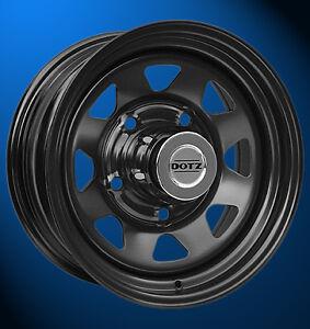 4x-NEUE-Dotz-Dakar-black-7-0-x-16-Zoll-Felgen-LK-6-139-7-ET-13-mm