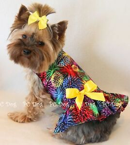 XXS-Fireworks-4th-of-July-Dog-dress-clothes-teacup
