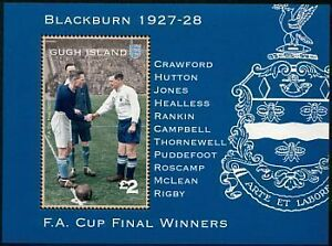 BLACKBURN-ROVERS-Team-1928-FA-CUP-Football-Stamp-Sheet