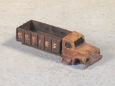 N Scale Rusted Out International Truck w/Stake Bed