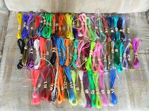 100 yard lot your choice colors rexlace plastic lace boondoggle gimp lanyard