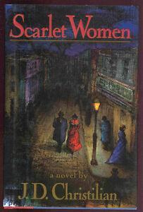 SCARLET-WOMEN-Christilian-US-first-ed-HB-dj-mystery