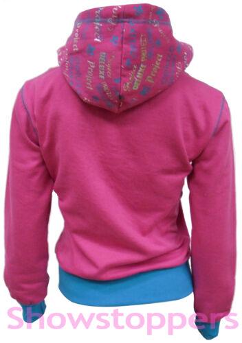 Filles survêtement filles sweat à capuche poche suit vêtements survêtement âge 7 8 9 10 11 12 13
